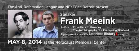 Frank Meeink event on May 8 at HMC